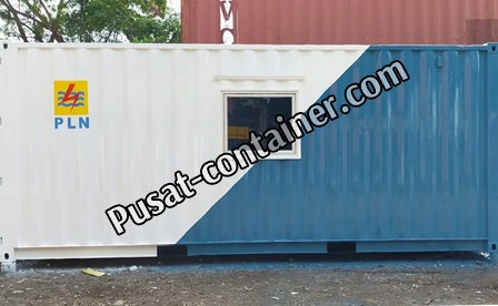 JUAL 20 FEET STORAGE CONTAINER