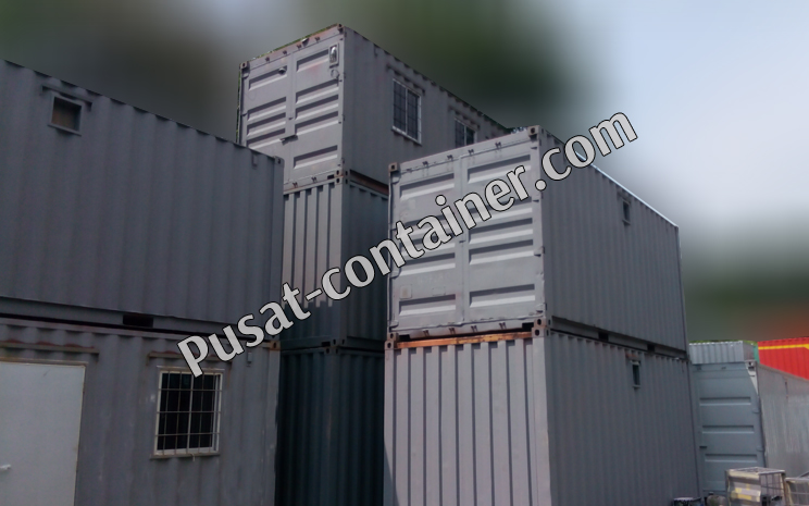 ready stock office container 20 feet dan office container 40 Feet 1