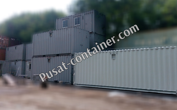 ready stock office container 20 feet dan office container 40 Feet 2
