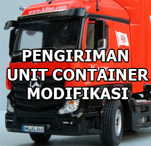 pengiriman unit container office container